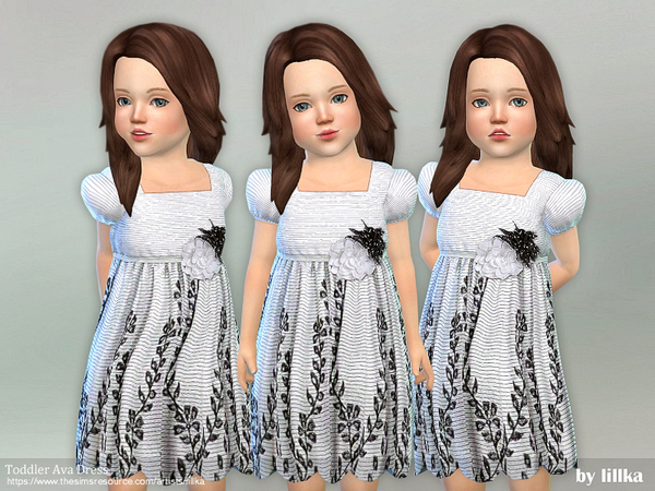 Toddler Ava Dress by lillka