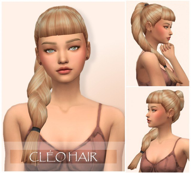 Cleo Hair by wondercarlotta