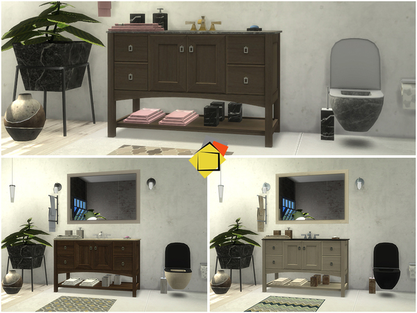 Brantford Bathroom by Onyxium