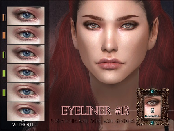Eyeliner 13 - subtle lashes by RemusSirion