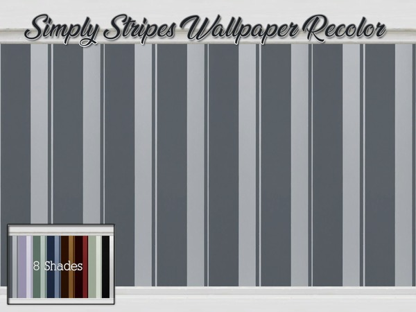 Simply Stripes Wallpaper Recolor by Beatrice_e