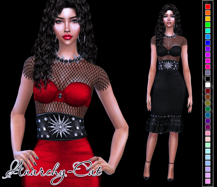MFS Ariani Dress by Anarchy-Cat