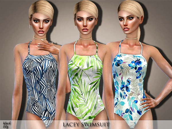 Lacey Swimsuit by Black Lily