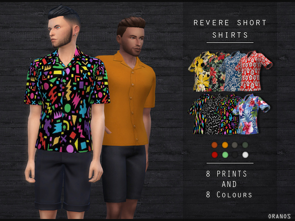 Revere Short Shirts by OranosTR