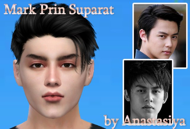 Mark Prin Suparat by Anastasiya