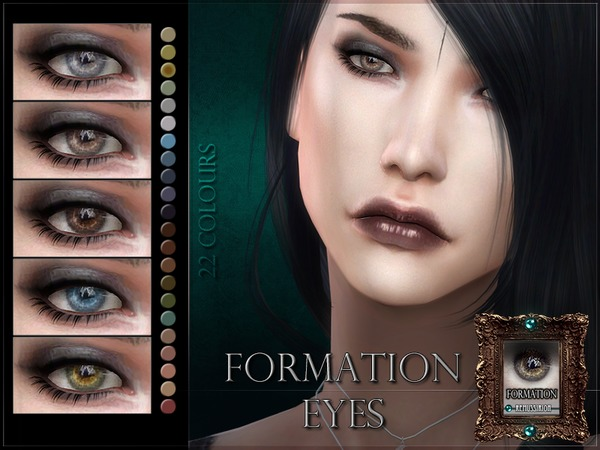 Formation Eyes by RemusSirion