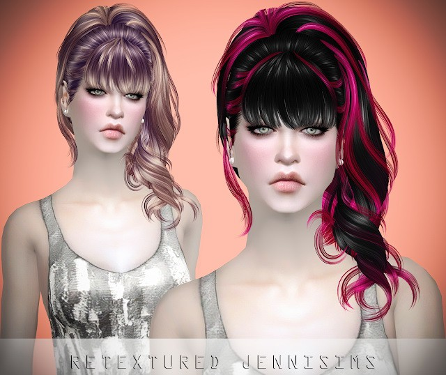 Newsea Belladonna Hair retexture by JenniSims