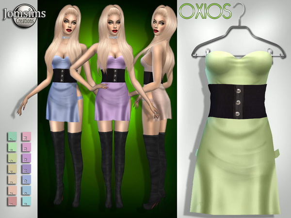 Oxios dress by jomsims