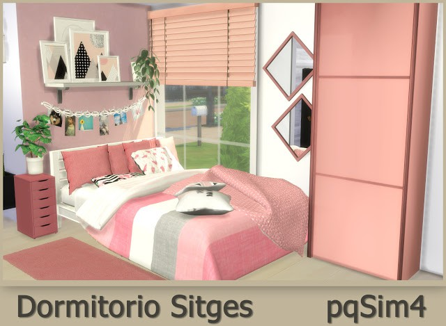 Sitges Bedroom by pqSim4