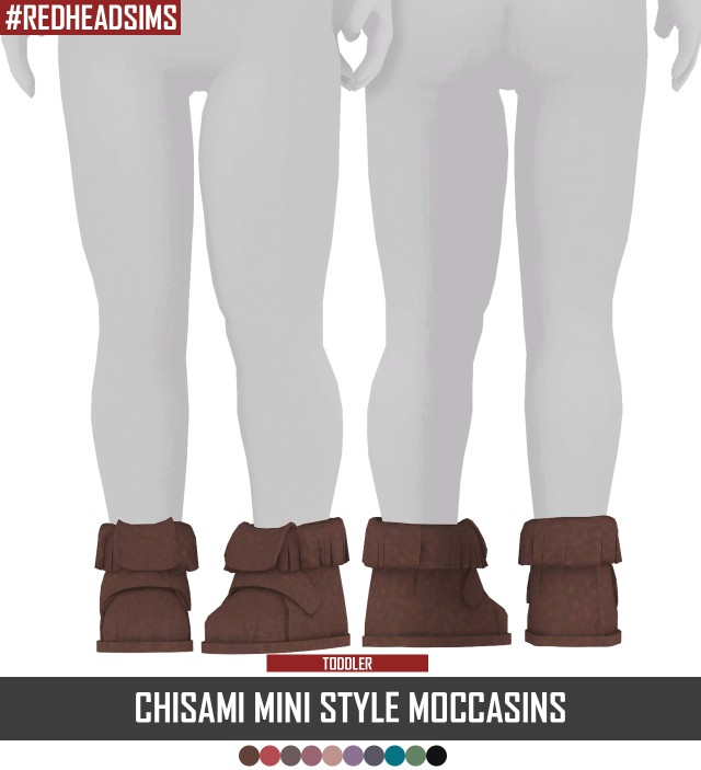 CHISAMI MINI STYLE MOCCASINS TS3 to TS4 by redheadsims