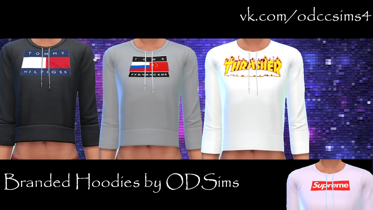 Branded Hoodies by ODSims