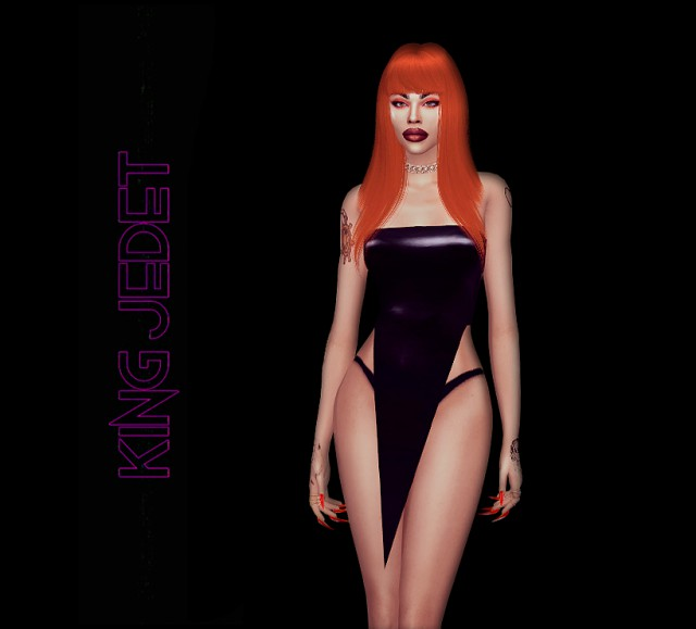 Latex Dress by King Jedet