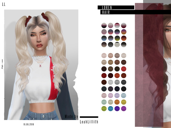 LeahLillith Loren Hair by Leah Lillith
