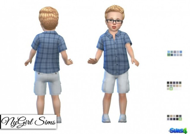 3 Piece Summer Outfit Toddler Boy by NyGirl