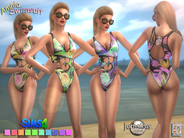 Amnia swimsuits by jomsims
