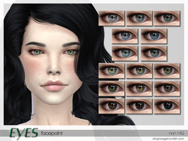 EyeSet8 by Shojoangel