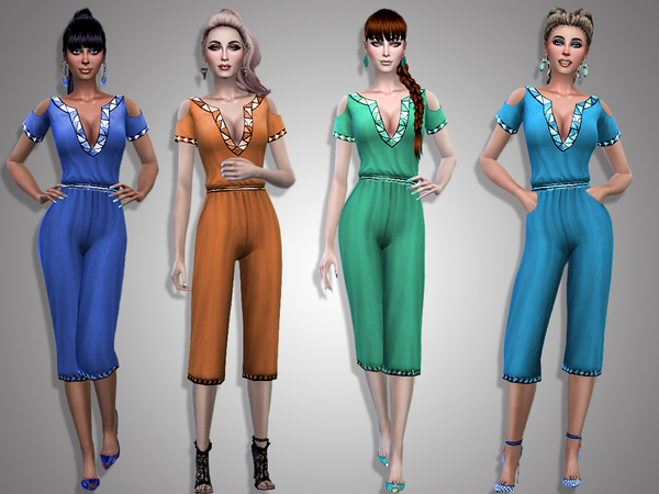 Lena jumpsuit by Simalicious