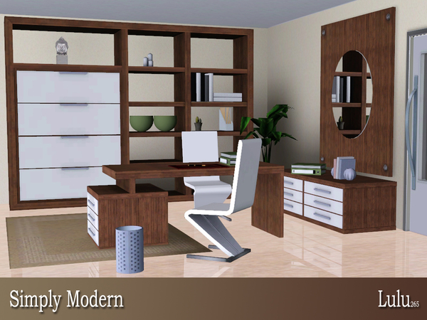 Simply Modern Home Office by Lulu265