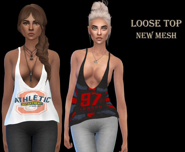 Loose Top by Leo-Sims