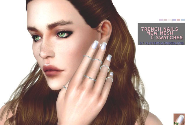 French Nails by PlayersWonderland