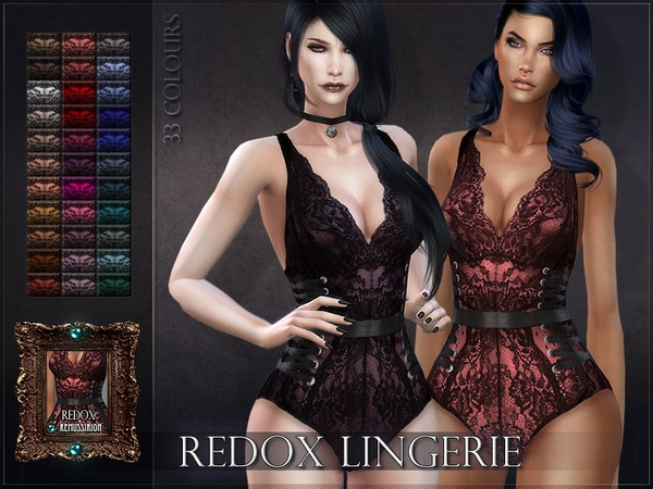 Redox Lingerie by RemusSirion