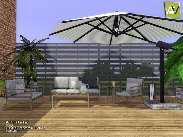 Fuse Outdoor Living by ArtVitalex