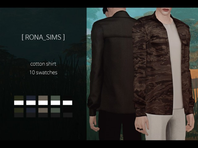 cotton shirt by RONA