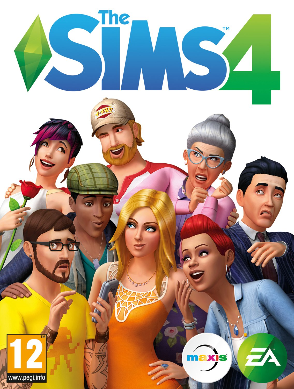 The Sims 4: Deluxe Edition [v 1.47.51.1020] (2014) PC  RePack от xatab