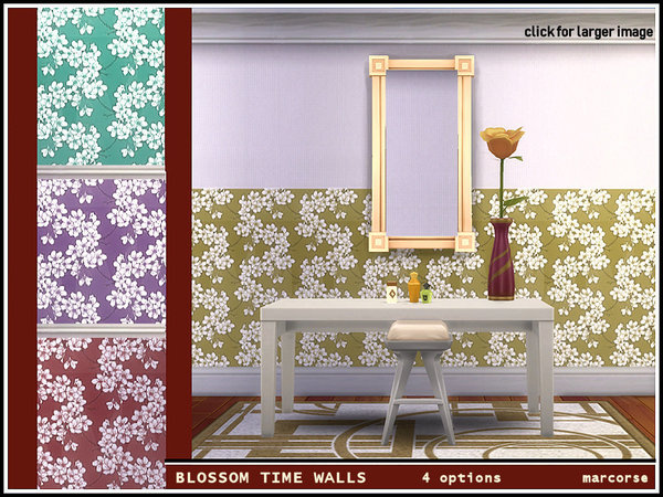 Blossom Time Walls by marcorse