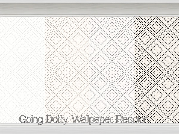 Going Dotty Wallpaper Recolor by Beatrice_e