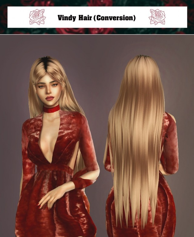 Vindy Hair (Conversion) by g-srwsims