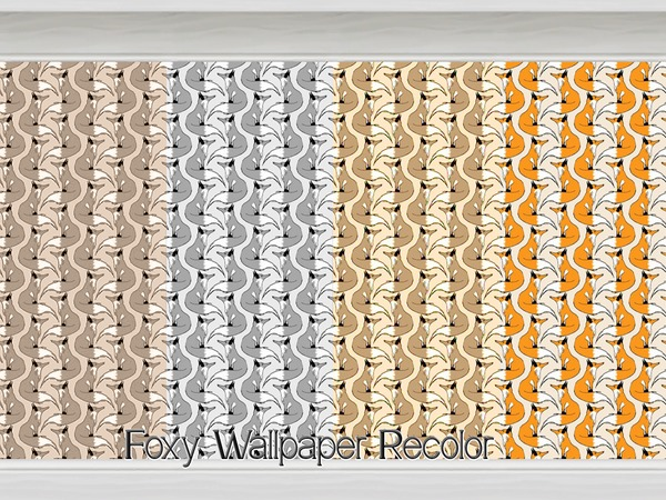 Foxy Wallpaper Recolor by Beatrice_e