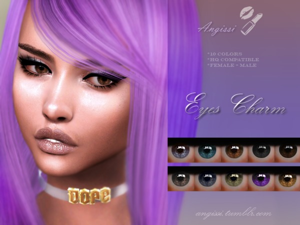EYES charm by ANGISSI