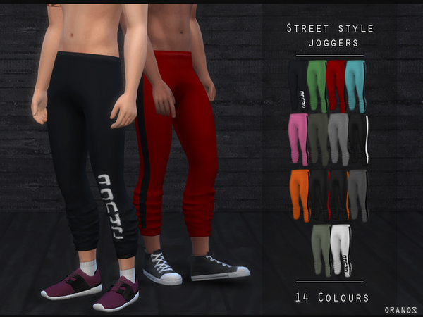 Street Style Joggers by OranosTR