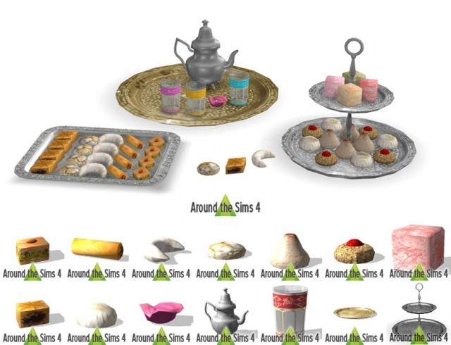 Middle-Eastern edible pastries by Sandy