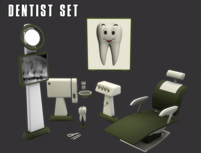Dentist Set by Leo-Sims