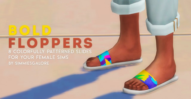 Bold Floppers by Simmiesgalore
