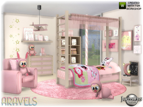 Aravels kids bedroom by jomsims