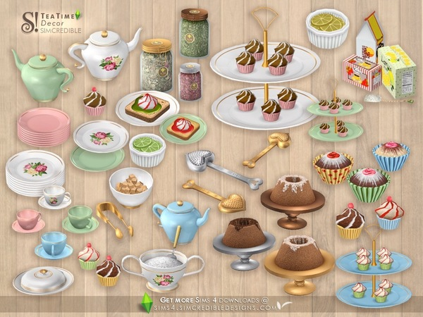 Tea Time Decor by SIMcredible