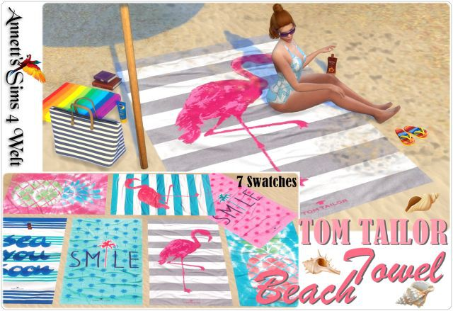 TOM TAILOR Beach Towel by Annett85