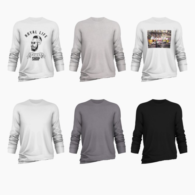 Long Sleeve T-Shirt Remake by bear-sims