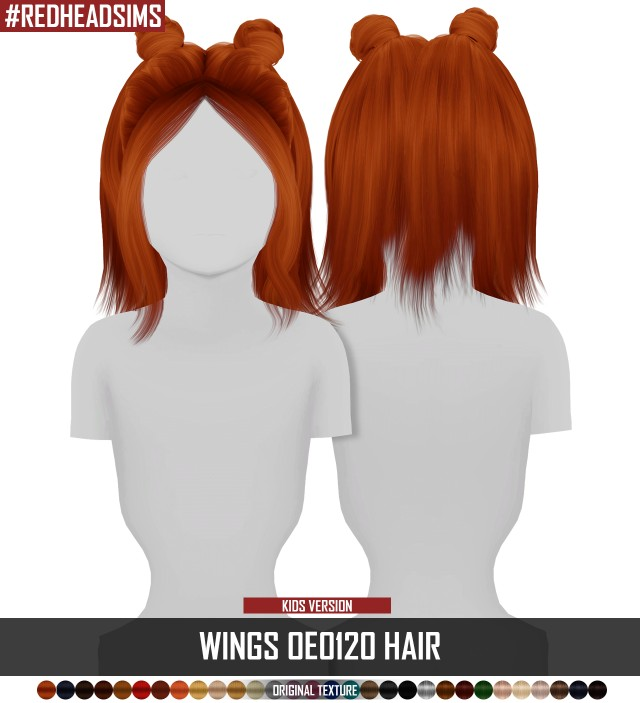 WINGS OE0120 HAIR - KIDS VERSION by redheadsims