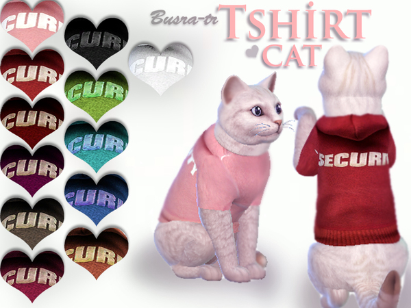 Security CAT_Tshirts by busra-tr