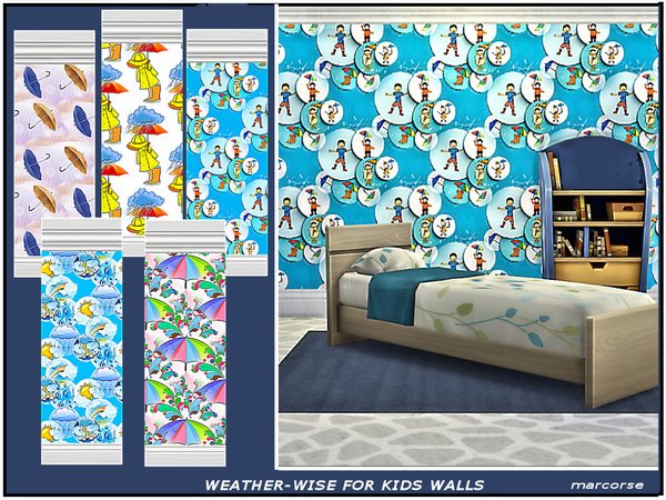 Weather-wise for Kids Walls by marcorse