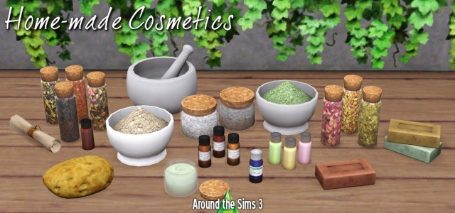 Home-made cosmetics by Sandy