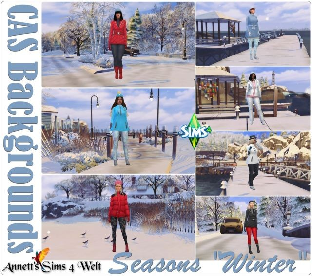 "CAS Backgrounds - Seasons ""Winter"" by Annett85"