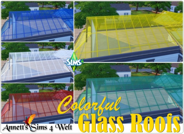 Colorful Glass Roofs by Annett85
