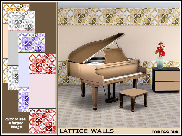 Lattice Walls_marcorse