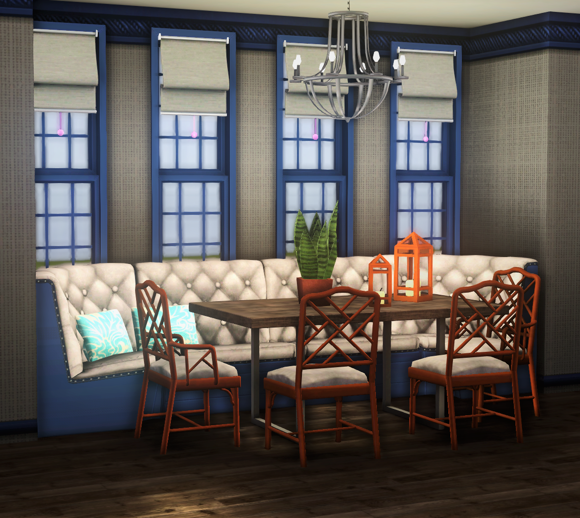 SNARKYSHARK CHINOISERIE CHAIRS - TS2 CONVERSION by architectural-sims