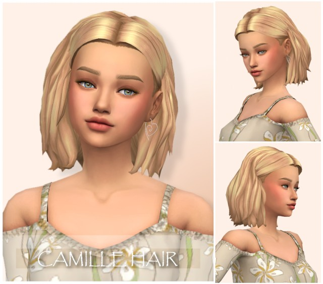 Camille Hair by wondercarlotta